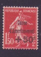 "FRANCE N°277 "" C.A. + 50c S. 1F50 ROUGE "" NEUF xx TB"