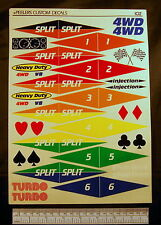 Decals - 27 Mhz, frequency pennants etc..- Peelers no:102