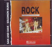 SAM AND DAVE  SOLOMON BURKE hold..  (CD)  (les genies du rock editions atlas)