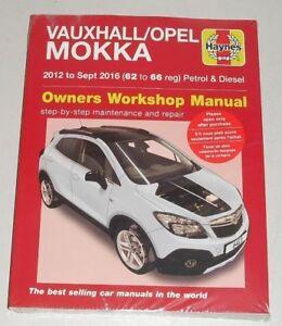 Reparaturanleitung Opel / Vauxhall Mokka, Baujahre 2012 - 2016