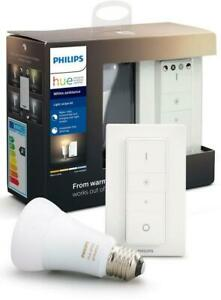 PHILIPS HUE »WHITE AMBIANCE LIGHTRECIPE KIT DIMMSCHALTER« LED-LEUCHTMITTEL, E27