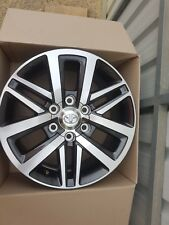 Toyota Hilux SR5 Genuine Alloy Wheels Rims 18 inch As New Fit Prado Fortuner