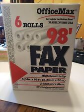 Office Max Fax Paper Full Case