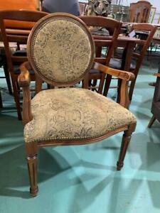 H41044 French Style Armchair Carved Chair 2 Available