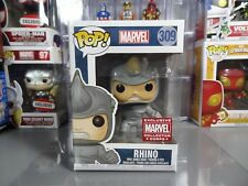 Funko POP! Marvel Collector Corps Exclusive Rhino #309
