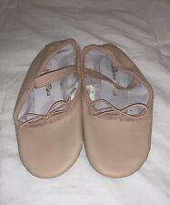 Dance Class Ballet Shoes 12 Split Sole String Tie