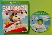 Snoopy's Grand Adventure  - Microsoft Xbox One Game - Tested ! XBOX 1 Snoopy