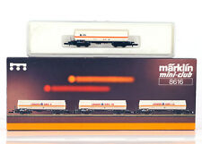 MARKLIN Z MINI-CLUB 8616 8607 SET of 4 Freight Cars