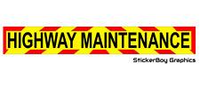 Highway Maintenance Magnet Magnetic Sign Highways Road Works Chevron 620mm x 1