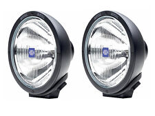 Pair Of  HELLA Rallye 4000 Spread Beam 4x4 Off Road Driving Lamps Spot Lights