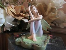 "LISA STEINKE ""EUCALYPTUS"" FAIRY Figurine by Munro makers of Faerie Glen BNIB"
