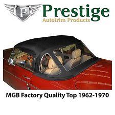 MGB Convertible Top Soft Top Tops 1962-1970 Factory Quality Vinyl