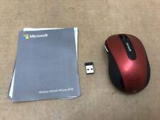 Microsoft USB Wireless Mobile Mouse 4000 D5D-00038 ✅❤️️✅❤️️
