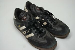 Adidas Samba Classic Black Mens Athletic Indoor Soccer Shoes Sz 10