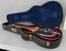 Vintage 1980s Sunburst Dobro Square Neck Blue Grass Guitar & Case NO RESERVE