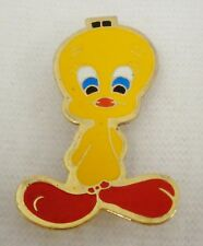 "Tweety Bird Lapel Pin (1.5"" High) Pre-owned 1975"