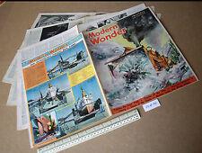 Underground Tube Railway Safety 1930s Vintage Modern Wonder Pulp Magazine V2 #32