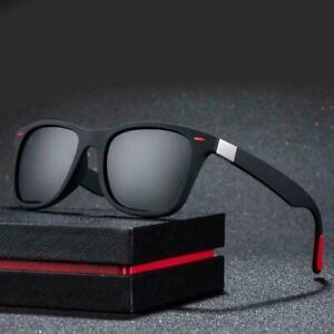 Polarised Unisex Sunglasses Brand Design Driving Square Frame UV400 Protection