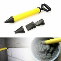 Mortar Gun Syringe Pointing Grouting Sprayer Cement Lime Applicator Tool+4Nozzle