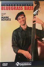 INTERMEDIATE BLUEGRASS BASS Homespun DVD Mark Schatz