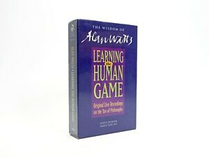 Wisdom of Alan Watts - Learning the Human Game - Tao Philosophy Cassette Tapes