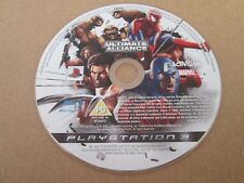 Marvel: Ultimate Alliance (Sony PlayStation 3, 2006) DISC ONLY EX C PAL