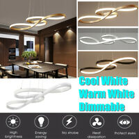 Dimmable Acrylic LED Ceiling Light Lamp Pendant Light Chandelier Room   CA
