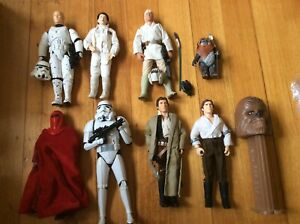 Star Wars 12 inch figure Luke Skywalker Han Solo Princess Leia Stormtrooper