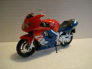 Honda CBR 600 F Red Blue 1:18 Burago