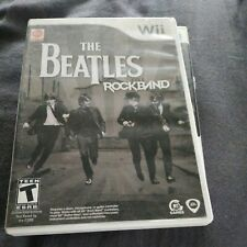 The Beatles: Rock Band (Nintendo Wii, 2009) Complete Tested Working