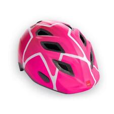 Childrens cycle helmet MET Genio Pink White 52-57cm
