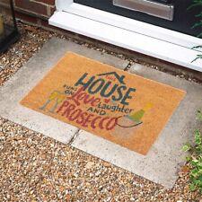Doormat Coir Prosecco Slogan 46cm x 75cm NEW