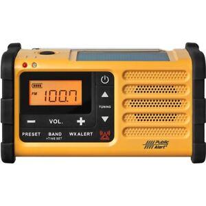 Sangean Mmr-88 Am/Fm Weather Alert Radio Powered By Handcrank Usb Solar