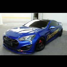Front+Rear+Side Skirts Body kit Unpainted For Hyundai NEW Genesis coupe 2013+