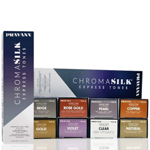 New PRAVANA EXPRESS TONES Demi-Permanent 5 Minute Hair Color Creme ~ 3 fl oz.
