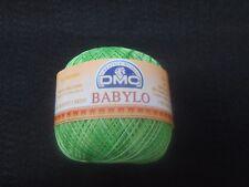 DMC Babylo UNCINETTO FILO COTONE 50 G-Taglia 30 Colore Multi-Colore Verde N. 114