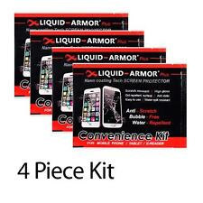 Liquid Armor Plus (4 x Disposable Packs) Screen Protector for Phone & Tablet