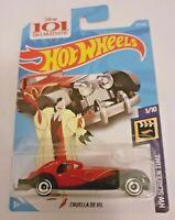 MATTEL Hot Wheels  101 DALMATIANS CRUELLA DE VIL  Brand New Sealed Box
