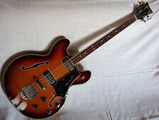 Welson hollow body bass ,ultra rare,60',made in italy,vintage