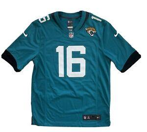 Trevor Lawrence Jacksonville Jaguars Nike #1 Draft Pick Teal Game Jersey Medium