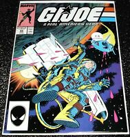 G.I Joe 65A (7.5) 1st Print 1982 Series Marvel Comics