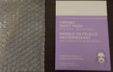 Avon Anew Firming Sheet Mask With Royal Jelly 4 Individual Masks- NEW in Box