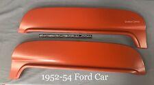 52 53 54 1952 1953 1954 Ford & Mercury Flush Mount Steel Metal Fender Skirts Kit