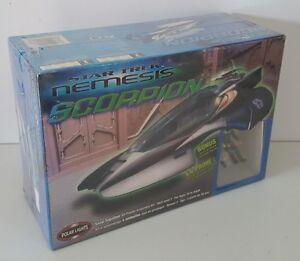 Polar Lights Star Trek Nemesis Scorpion Snap Together Model Kit Unopened #4203