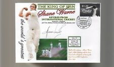 SHANE WARNE 'THE KING OF SPIN' FINAL TEST CRICKET COV 4