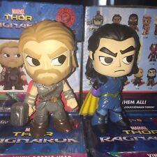 Funko Mystery Minis Marvel Thor Ragnarok THOR & LOKI GAMESTOP EXCLUSIVE Lot of 2