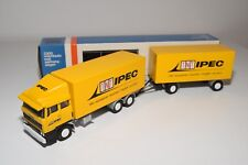 ± LION CAR DAF 2800 TRUCK WITH TRAILER TNT IPEC NEAR MINT BOXED..