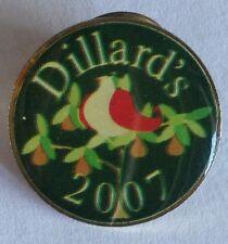 Dillards 2007 Bird Pin Badge Department Store Vintage Collectable (E9)