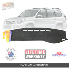 DASH MAT to Suit TOYOTA PRADO 120 SERIES 03/2003 09/2009 DM905 Charcoal GX GXL