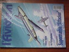 $$z Revue Le Fana de l'Aviation N°273 Supermarine Attacker  Fokker Triplan  P-38